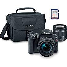 Canon EOS Rebel SL2 Digital SLR Camera Kit with EF-S 18-55mm STM + ES100 Case + 32GB Class 10 SD Card – International Version Review