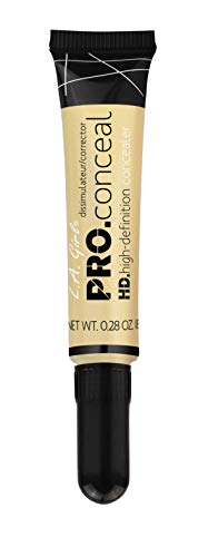 (L.A. Girl Pro Conceal HD Concealer, Light Yellow Corrector, 0.28 Ounce)