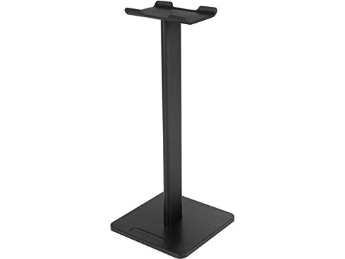 Rosewill Headphone Stand, Universal Aluminum Gaming Headphone Holder Bracket Headset Showing Display Stand Hanger All Headphone Size –Black (RHS-001)
