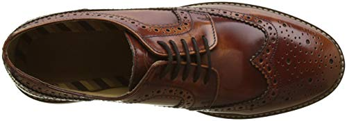 Uomo Turner Stringate Beige London Brouge 242 Tan Base Scarpe qXTpC5wx