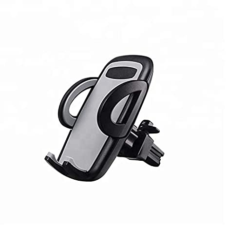 ARAFAX Car Cell Phone Mount Holder With One Touch Design Car Air Vent Mount Holder Compatible With Most Smartphones
