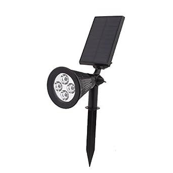 Paisaje eDealMax del Punto de luz Solar al aire Libre migas DE 4 LED jardín al