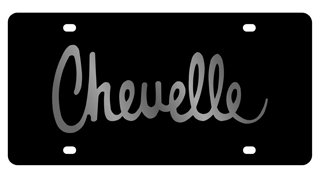 Eurosport Daytona Compatible/Replacement for Chevrolet Chevelle License Plate
