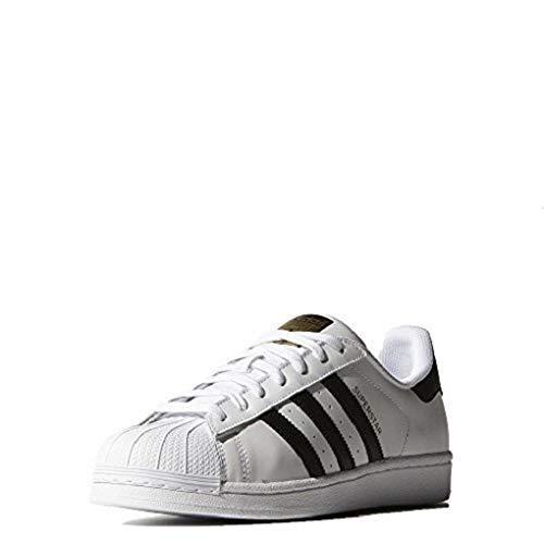 adidas Originals S81858 : Men's Superstar Sneaker White/Black/Metallic Gold (10.5 D(M) US)