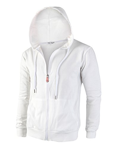 Mens White Jacket - 1