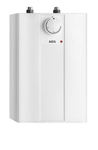 AEG 222162 Huz 5 Basis Kleinspeicher EEK A, 2kW, 5l Untertischspeicher, drucklos