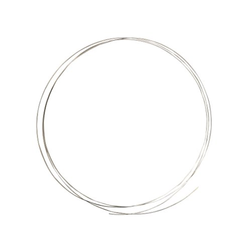 (5 Feet Soft SS65 1/4 T. oz Silver Solder Wire Tool for Jewelry Making and Repair)