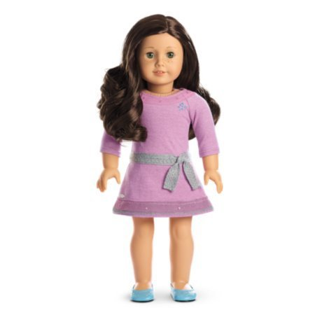 Girls Play Fun American Girl - Truly Me Doll: Light Skin, Freckles, Dark Brown Hair, Hazel Eyes DN55