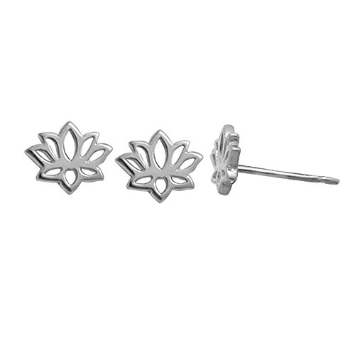 Boma Sterling Silver Flower Earrings product image