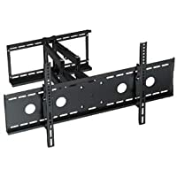 InstallerParts 37-65 TV Wall Mount – Full Motion Swivel/Tilt – 22.5 Extension Arm – LCD LED TV Monitor Flat Panel Screen – VESA Mount (BARL210L)