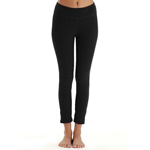 YAHA Womens Bootleg Workout Leggings