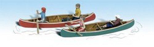 Ho Woodland Scenics Figures - 4