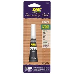 Zap Jewelry Gel 0 10 ounces