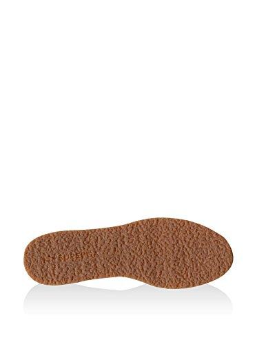 Superga S003880 - Zapatillas de cuero para hombre Full Dark Chocolate