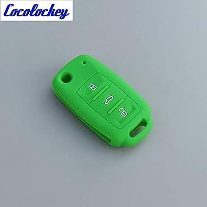 Amazon.com: ShineBear - Carcasa de silicona para llave de ...