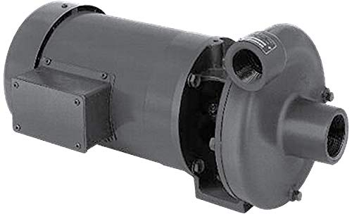 3 Phase Motor Cast Iron 4.25 Right Hand Rotation Closed Couple 56C 1-1//2 x 1-1//4 4.25 1-1//2 x 1-1//4 1 hp MP Pumps 35396 SERIES 80 End Suction Centrifugal Pump