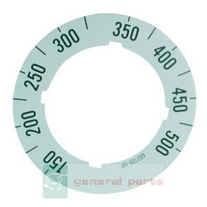 Garland Oven Parts - Garland G02725-16 Dial Insert 150F/500F