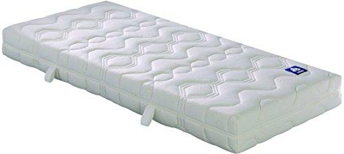 Badenia 03888360159 Bettcomfort Matratze Irisette Lotus Tonnentaschenfederkern H3, 90x200 cm, weiß