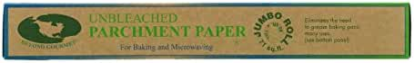 Beyond Gourmet Unbleached Non-Stick Parchment Paper, Made in Sweden, 71-Square-Feet