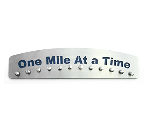 One Mile At a Time – Medal Hanger Display by Blue Diamond Athletic Displays