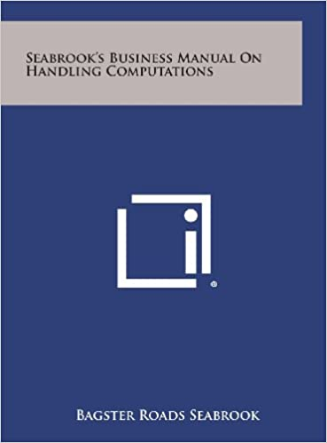 Seabrook's Business Manual on Handling Computations
