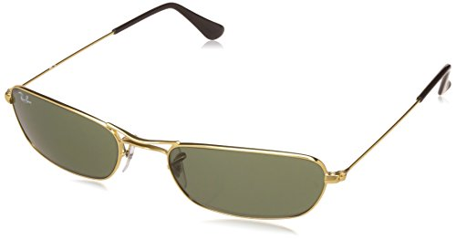 Ray-Ban UV Protected Oversized Men's Sunglasses – (0RB3381I00156|56|Crystal Green Color)