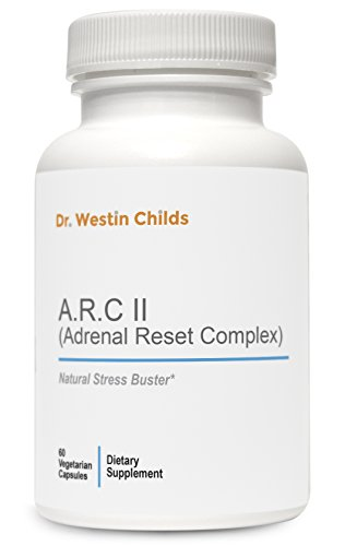 A.R.C II (Adrenal Reset Complex) - #1 Adrenal and Thyroid Support Supplement designed especially for Hypothyroid patients containing Relora, Ashwaganda & More - Vegan & Non-GMO - 30 Day Supply
