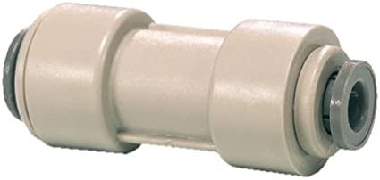 Pack of 10 John Guest Acetal Copolymer Tube Fitting Reducing Straight Union 3//8 x 1//4 Tube OD