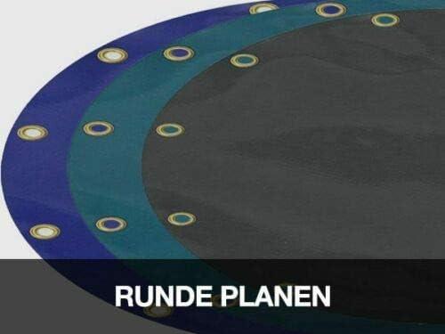 Azul diferentes di/ámetros y colores Lona redonda de PVC 620 g//m2 con ojales de 20 mm