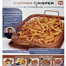 Amazon.com: 2 piece copper crisper oven air fryer