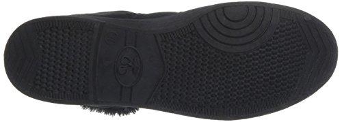 Fourree de Basic 03 Mono Cerises Ltc sintético de negro des Noir Black Zapatillas Temps Deporte material mujer Le HIqZ0X