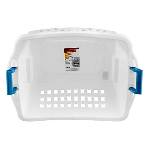 Rubbermaid 1.6 BU Stack-n-Sort Laundry Basket (White 1 Piece)