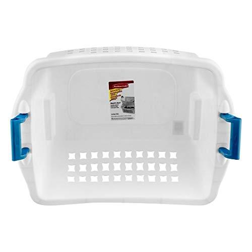 Rubbermaid 1.6 BU Stack-n-Sort Laundry Basket (White 1 Piece)