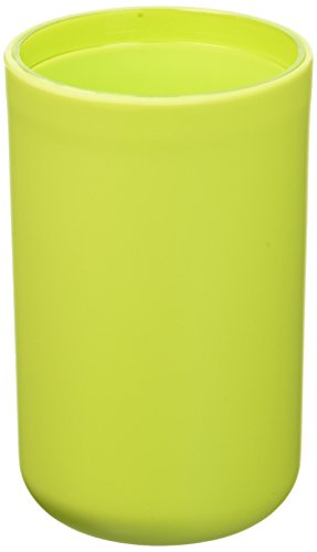 EVIDECO Vanity Bathroom Tumbler Soft Touch Design, Green (Soft Touch Tumbler)