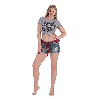 Denim Short For Women
