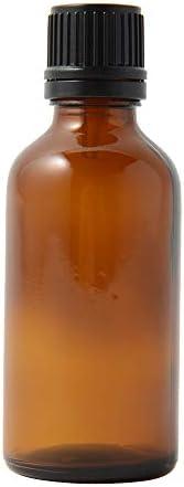 遮光瓶 50ml ドロッパーキャップ付き アンバー