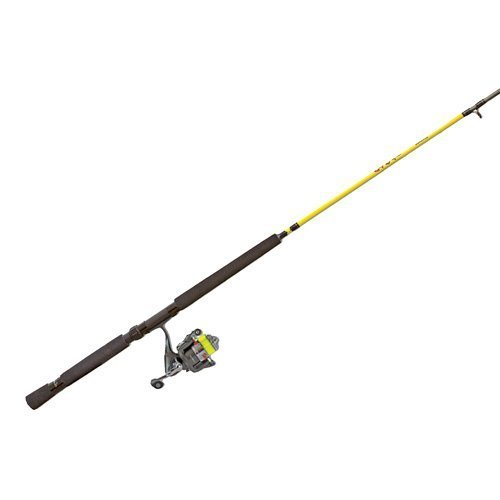 Lew& 039; S Fishing Slab Shaker Jig Trolling Spinning Rod and Reel Combo, 12 & 039; Light 4,8 oz. 120 YD. 4 Lb. 5.2  1 by lew& 039; S Fishing