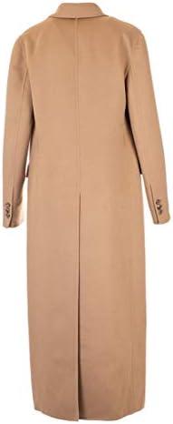 Prada Luxury Fashion Donna P641LS1921CRUF0040 Marrone Lana Cappotto | Autunno-Inverno 19