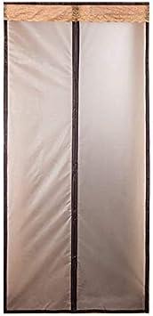 Liveinu W/ärmeschutzvorhang Magnet Thermo T/ürvorhang Fliegengitter Panel-Isolierung Thermovorhang Wasserdicht Winddicht Klimaanlage Fliegenvorhang f/ür Balkont/ür Wohnzimmer 80x200cm Gelb
