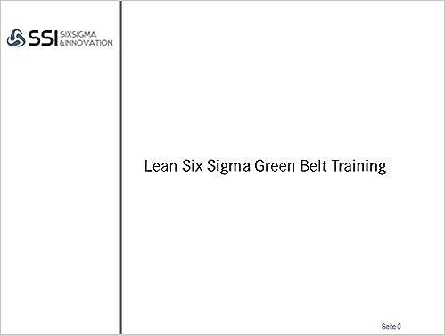 Exelent Lean Six Sigma Black Belt Zertifizierung Ideas - Online ...