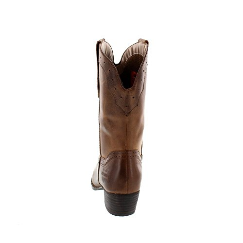 HARLEY DAVIDSON Chaussures Femmes - Boot MACKENA - brown