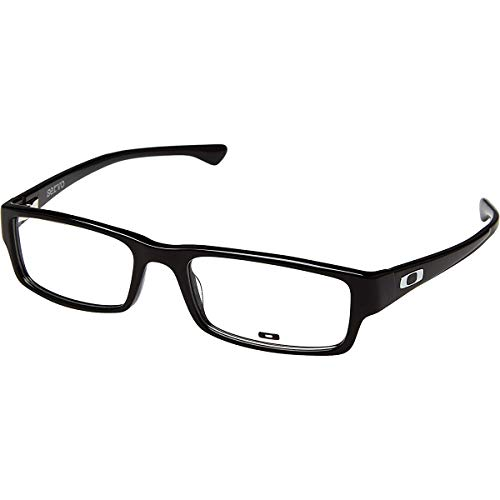 Oakley Men's Servo Eyeglasses,57-18-140,Polished Black