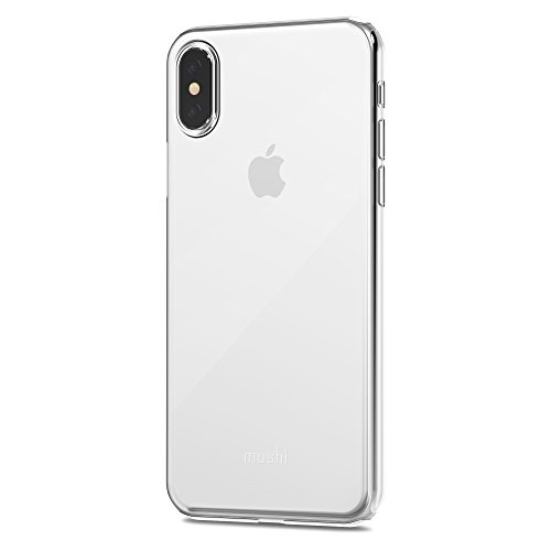 Moshi SuperSkin for iPhone X - Exceptionally thin Protective Case (White)