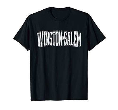 WINSTON-SALEM NC NORTH CAROLINA Vintage Sports Varsity Style T-Shirt (Salem Winston Christmas Home Children's)