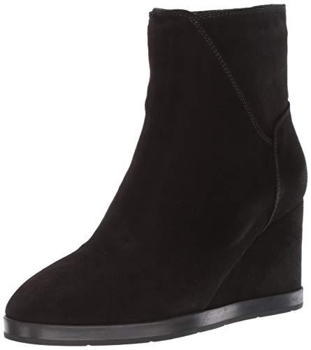 Aquatalia Women's Judy Suede Ankle Boot, Black, 9.5 M US