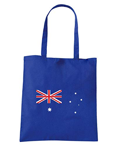 Borsa Shopper Royal Blu TM0160 AUSTRALIA FLAG