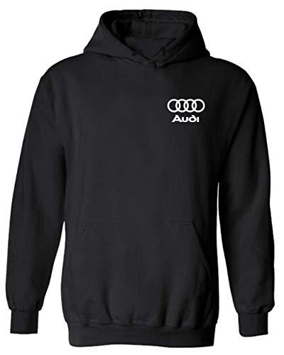 Audi Hoodie Mechanic A3 A4 A6 S6 A7 S4 S7 RS7 A8 S8 Q3 TT R8 Roadster Racing (L) Black