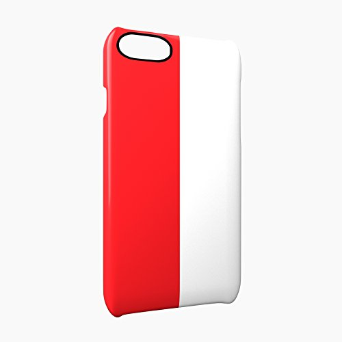 Flag of Poland Glossy Hard Snap-On Protective iPhone 7 Case Cover