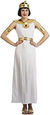 Car&Gus Disfraz de Egipcia Blanca para Mujer: Amazon.es: Juguetes ...
