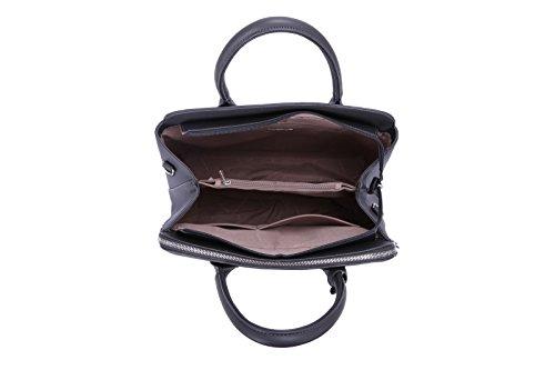 Bugatti Mano Borsa Tasche David Donna Taupe Elegante A Multiple Vera Tote Pelle Scuola Marrone Lavoro In Shopper Jones Spalla Pu Tracolla Bag a4nBXB58q